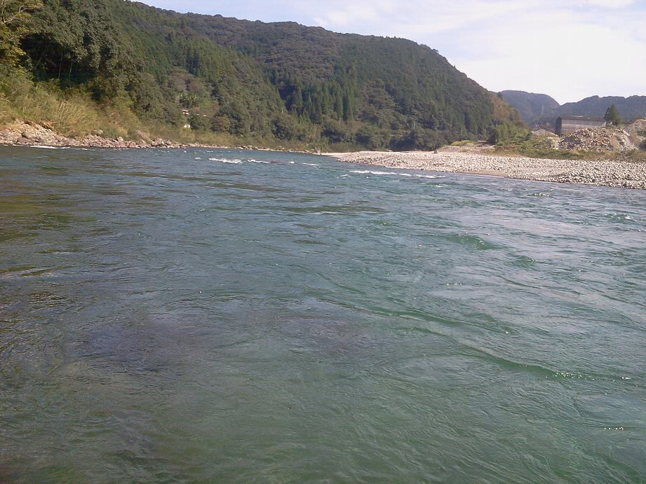 高知県 川釣りポイント 仁淀川