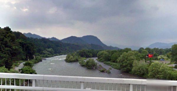 群馬県 川釣りポイント 利根川(沼田市付近)