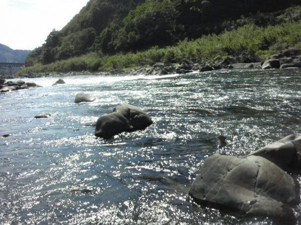 高知県 川釣りポイント 十川地区(四万十川)