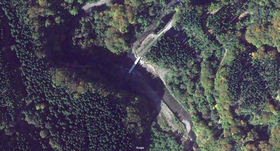 山形県 川釣りポイント 大沢川