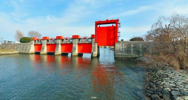 東京都 川釣りポイント 荒川水門(旧岩淵水門)