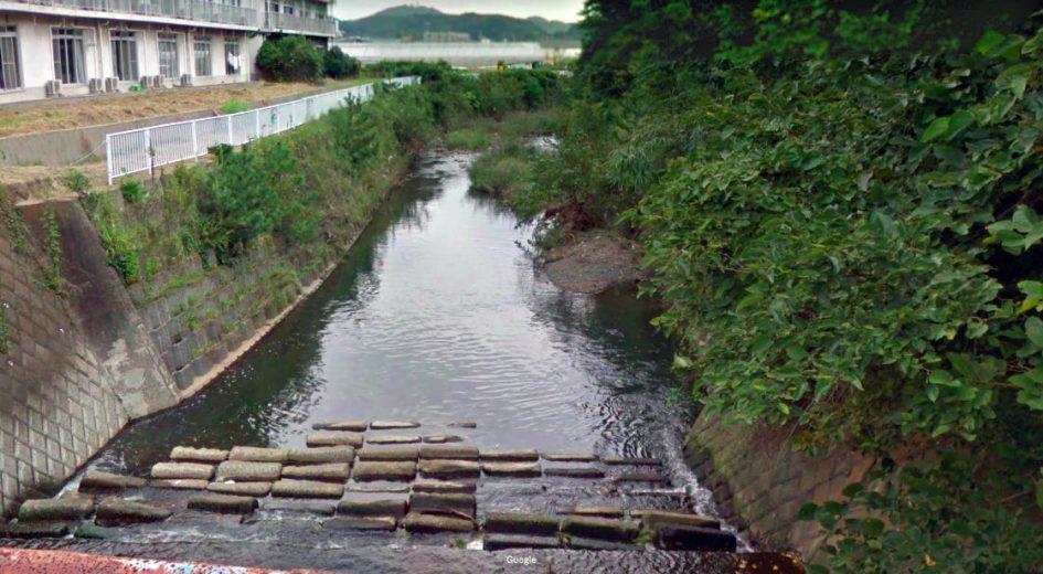 神奈川県 川釣りポイント 不動川(大磯プリンスホテル付近)