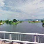 熊本 矢形川(木山川との合流地点近辺)