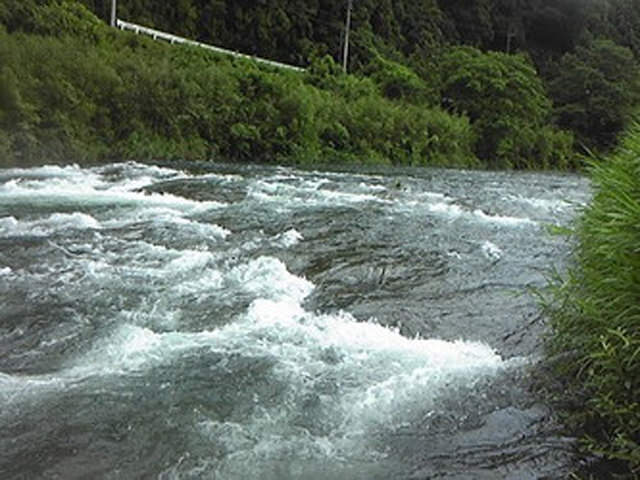 高知県 川釣りポイント 北川川(四万十川支流)