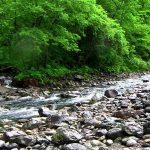青森県 追良瀬川(追良瀬大橋から下流)