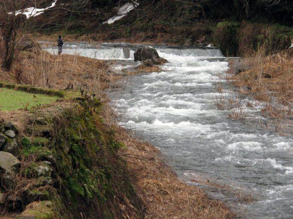 鳥取県 川釣りポイント 河内川