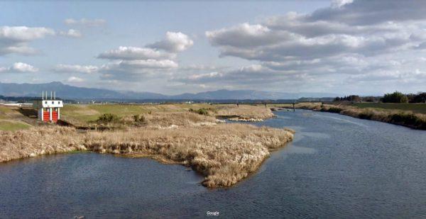 熊本県 川釣りポイント 菊池川(中流域)