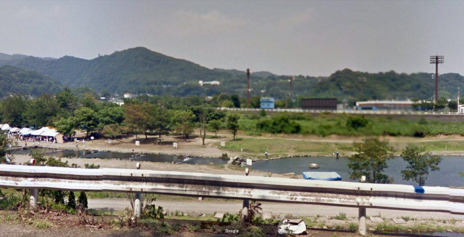 神奈川県 川釣りポイント 中津川