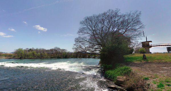岡山県 川釣りポイント 旭川