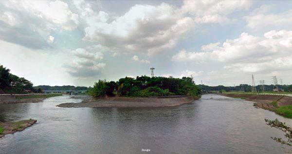 熊本県 川釣りポイント 白川(弓削神社付近)