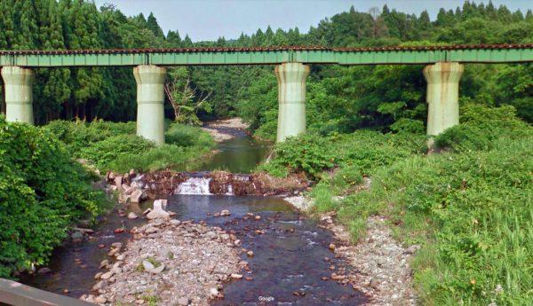 秋田県 川釣りポイント 小様川